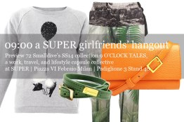 72 Smalldive SUPER Preview: Lifestyle Ensemble 01 Super Girlfriends' Hangout