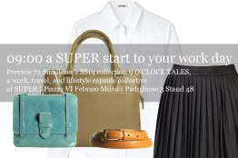 72 Smalldive SUPER Preview: Lifestyle Ensemble 04 Super Start to the Work Day