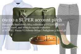 72 Smalldive SUPER Preview: Lifestyle Ensemble 09 SUPER Account Pitch